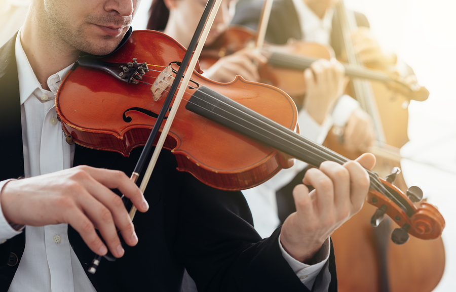 Hear music and see art at BlackRock Center for the Arts near Germantown homes.