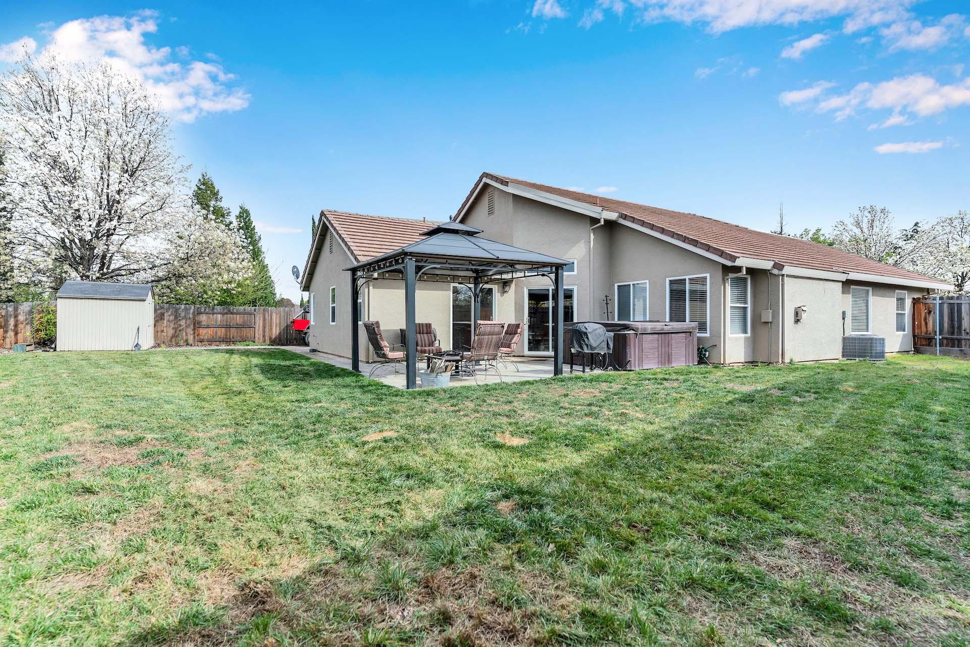 157 Clydesdale Way, Roseville, Ca | Backyard | Roseville Real Estate Agent