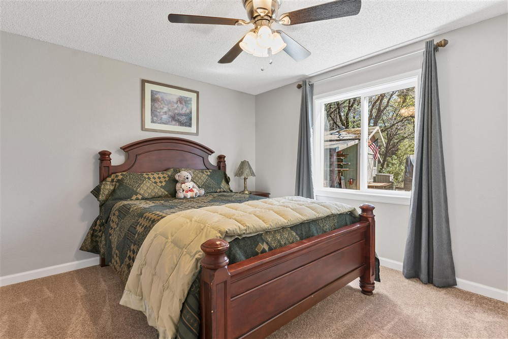 21770 Old Miners Rd, Foresthill, Ca | Bedroom #3 | Foresthill Real Estate Agent
