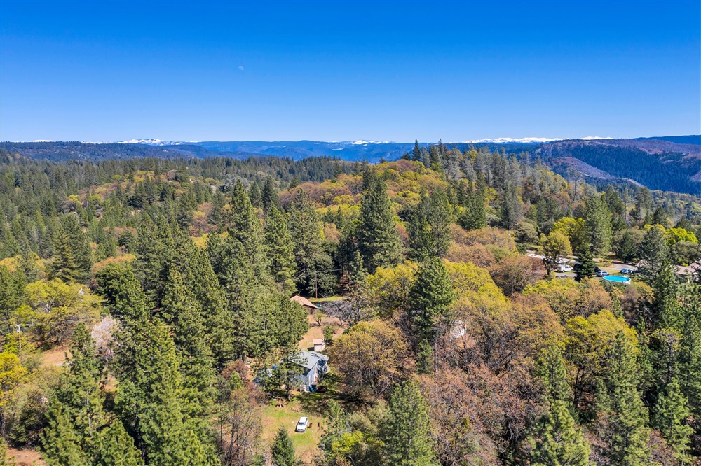 21770 Old Miners Rd, Foresthill, Ca | Drone Picture | Foresthill Real Estate Agent
