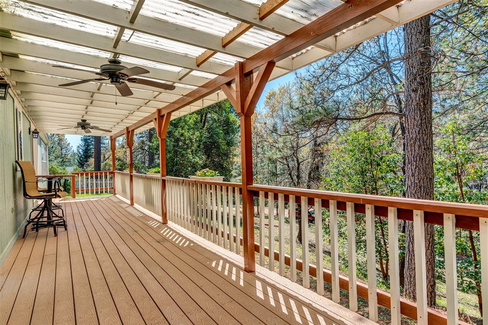 21770 Old Miners Rd, Foresthill, Ca | Deck | Foresthill Real Estate Agent