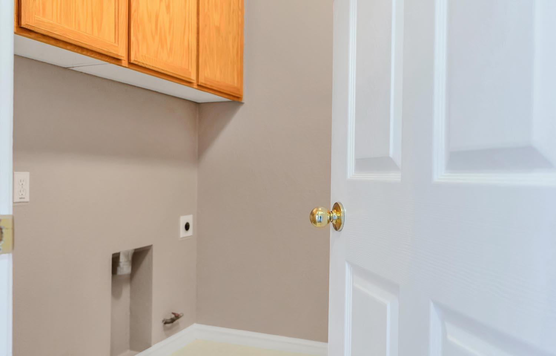 Upstairs laundry room of home at 5903 Lindsay Ct, Rocklin, Ca.