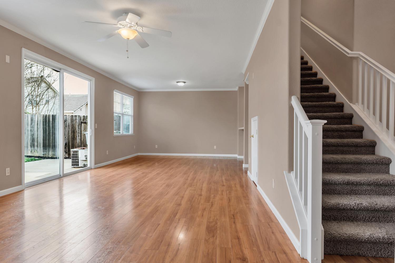 Living room of home at 5903 Lindsay Ct, Rocklin, Ca.