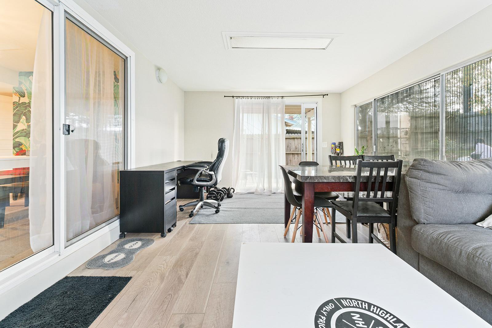 Enclosed patio of home at 6235 Everest Way, Sacramento, Ca.