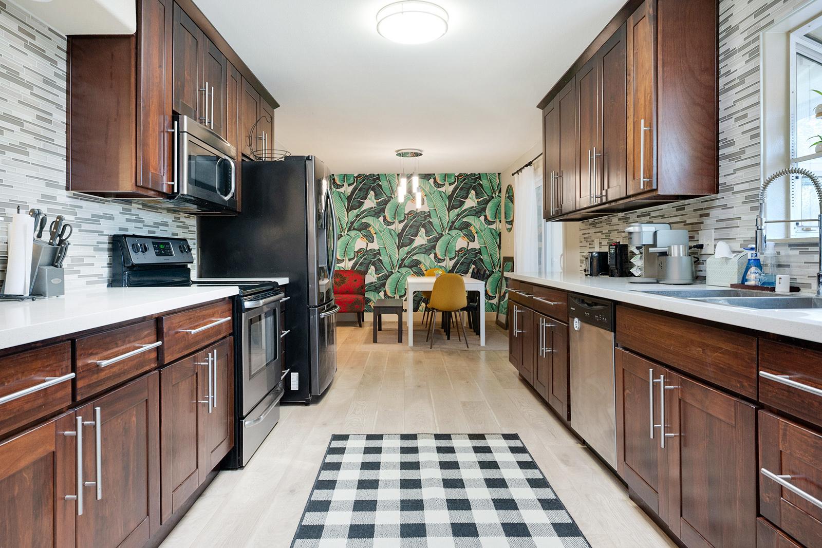 Kitchen of home at 6235 Everest Way, Sacramento, Ca.