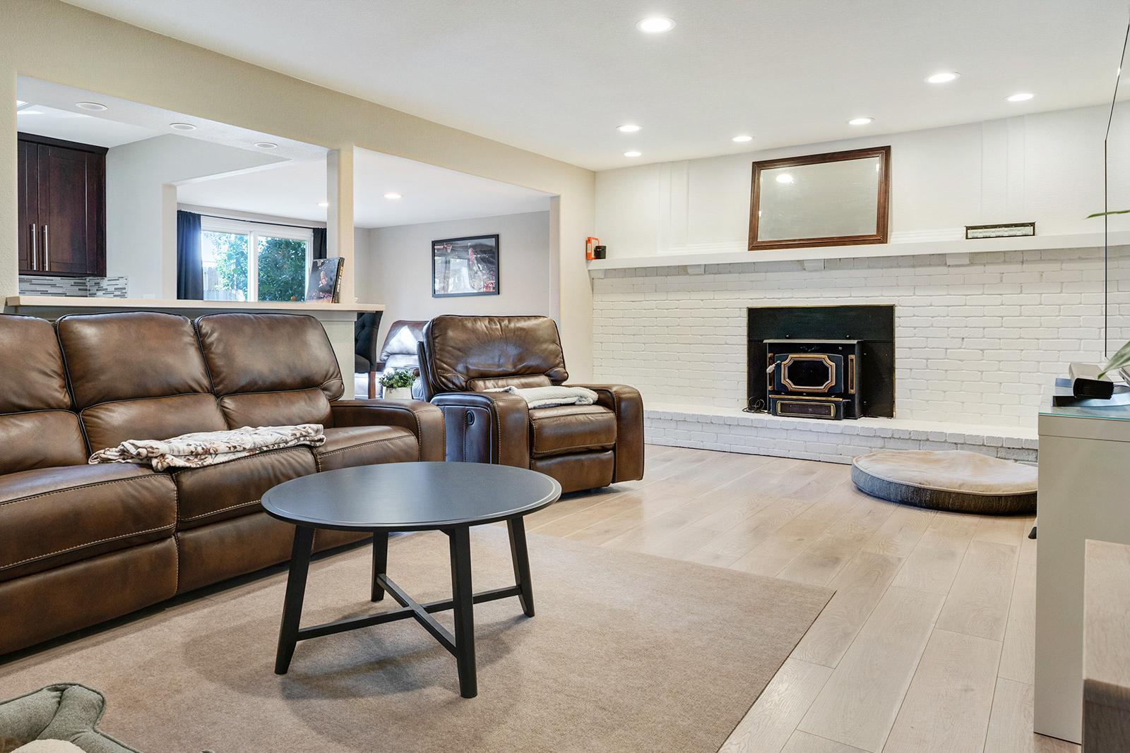 Living room of the home at 6235 Everest Way, Sacramento, Ca.