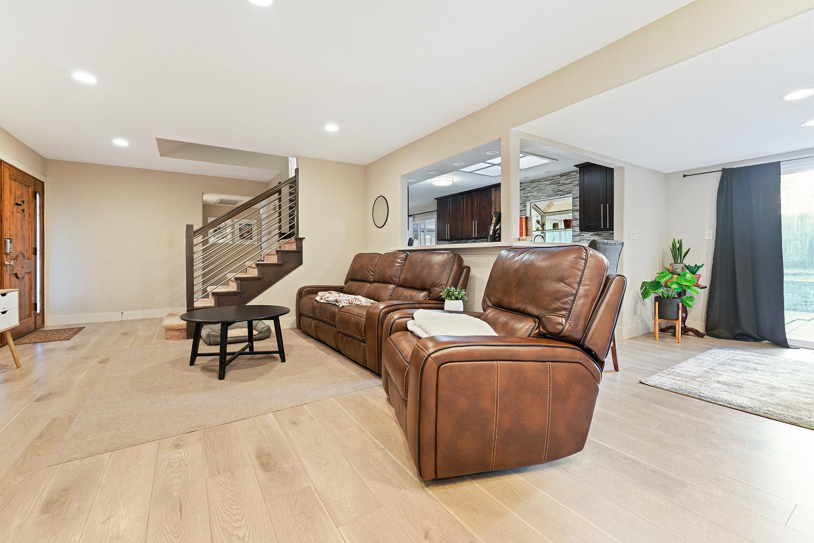 Living room of home at 6235 Everest Way, Sacramento, Ca.
