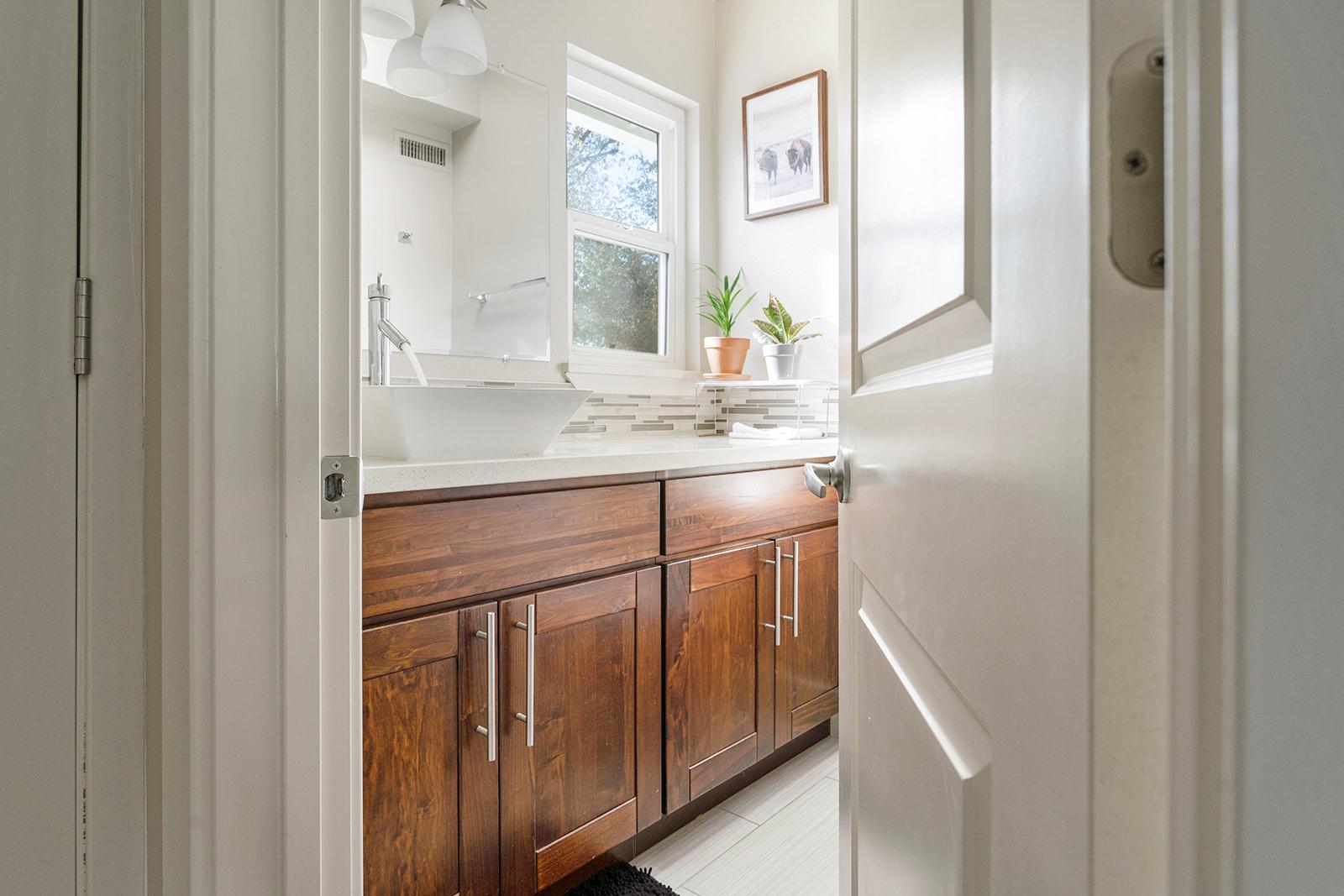 Master bathroom of home at 6235 Everest Way, Sacramento, Ca.