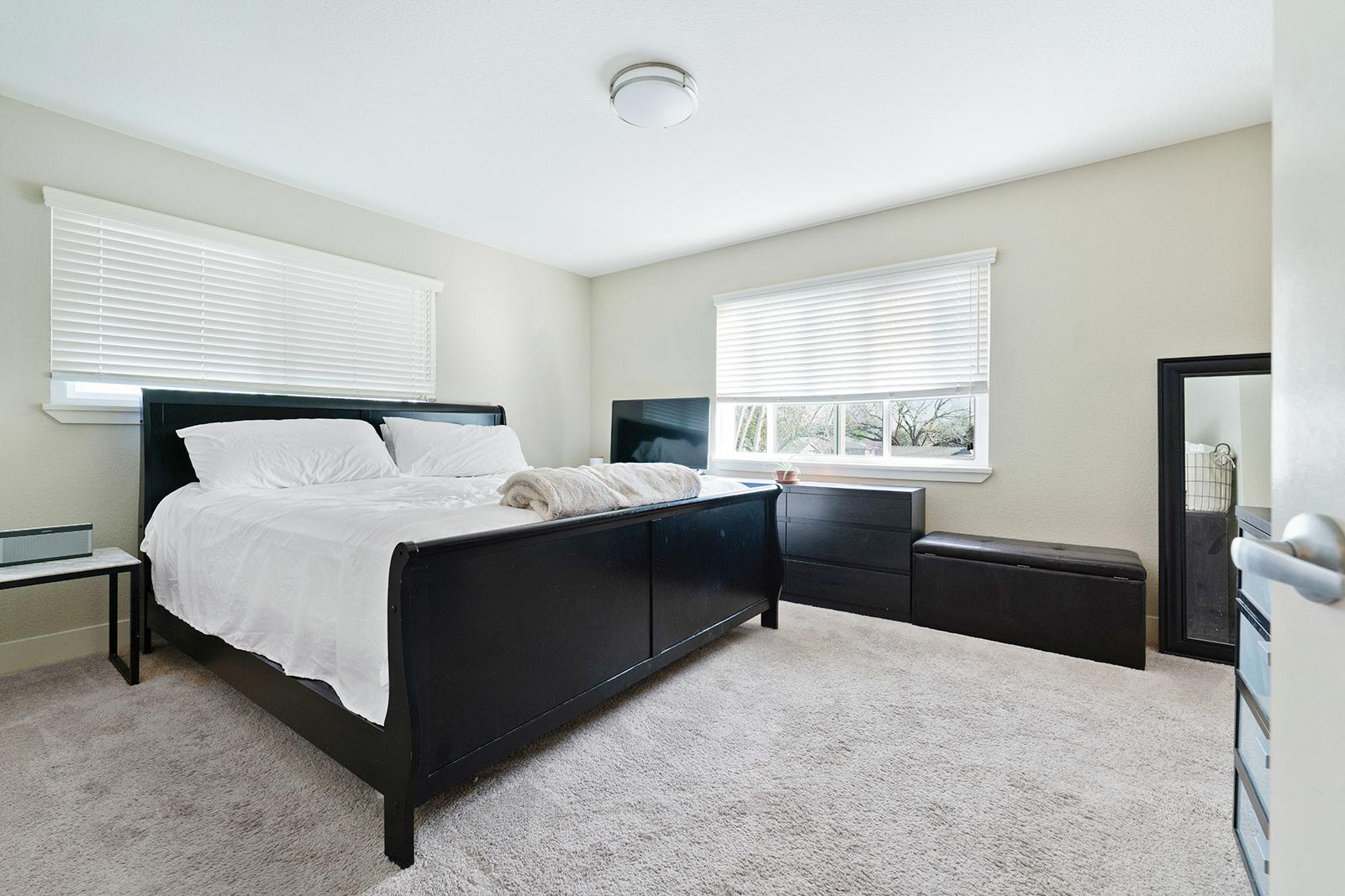 Master bedroom of home at 6235 Everest Way, Sacramento, Ca.