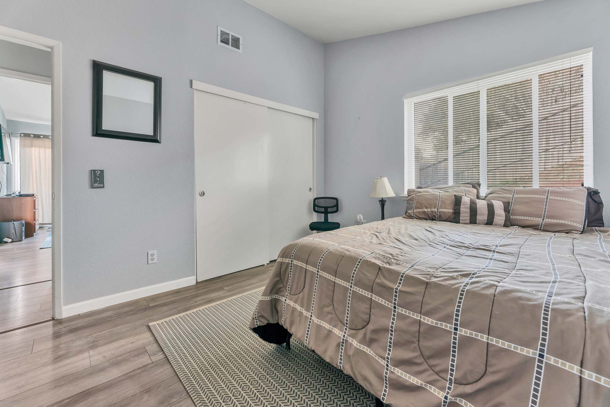 Second bedroom of home at 7121 Heather Tree Dr, Sacramento Ca