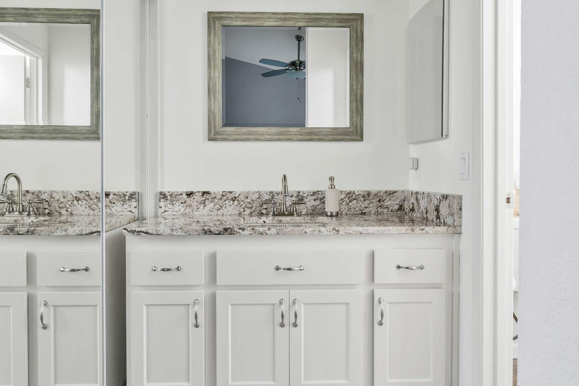 Master bathroom of home at 7121 Heather Tree Dr, Sacramento Ca