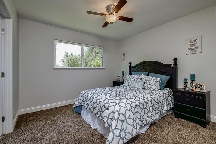 7325 Candlelight Way Master Bedroom | Realtor in Citrus Heights California