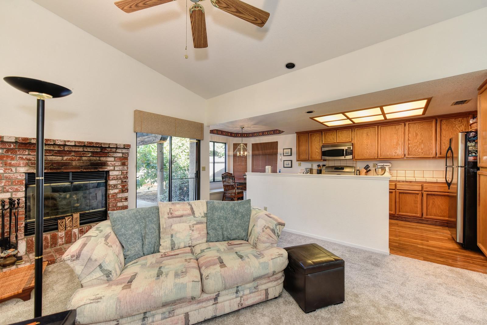 9158 Old Creek Rd Family Room | Keller Williams Realty Elk Grove California