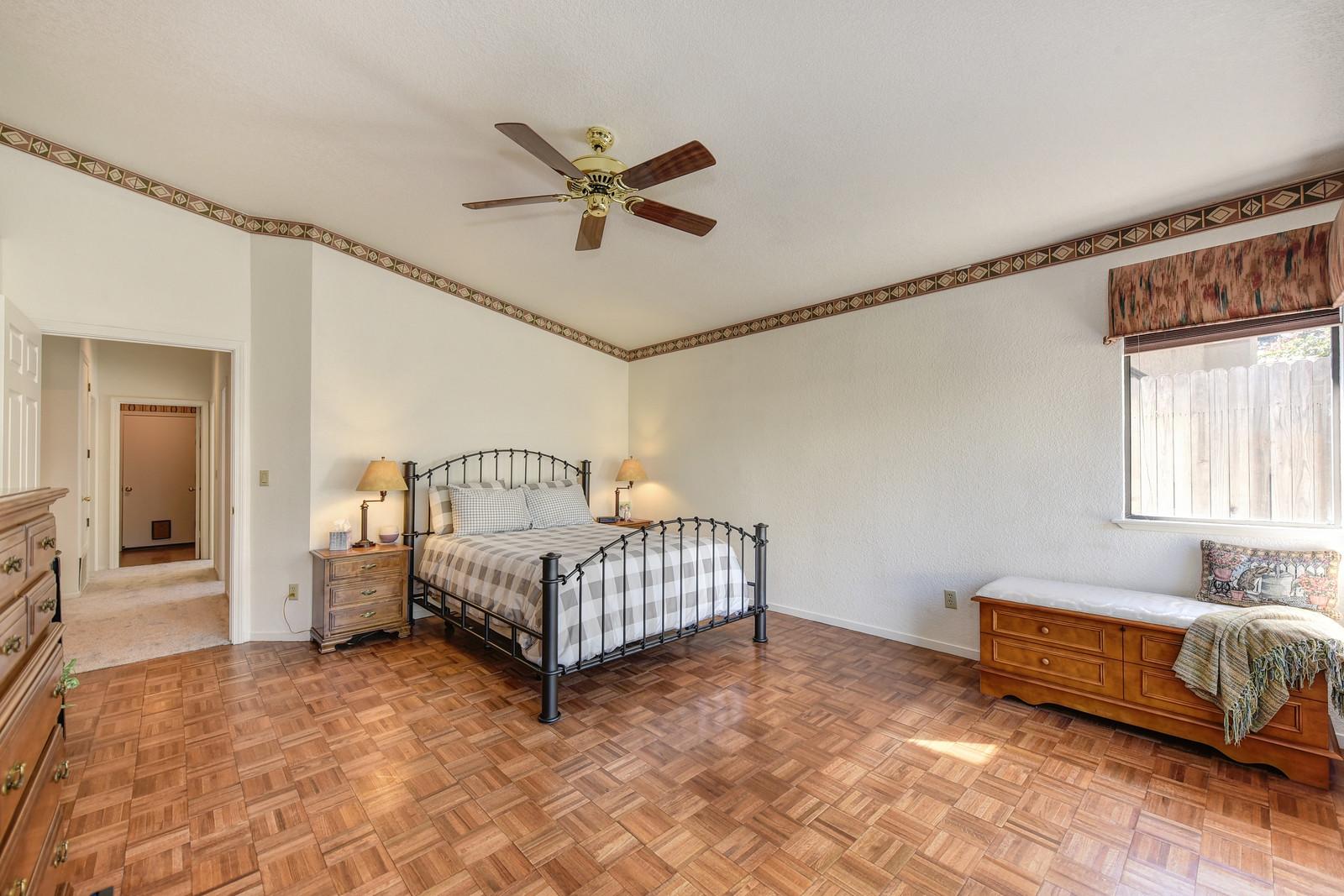 Elk Grove California home for sale | 9158 Old Creek Rd master bedroom | Real Estate Agent in Elk Grove California