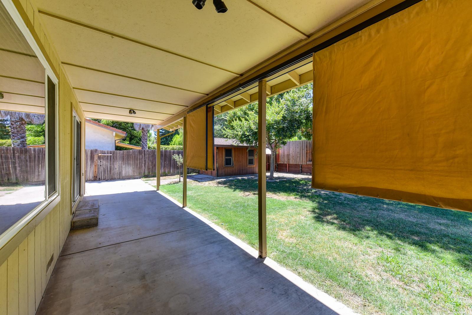5342 Nyoda Way patio | Realtor in Carmichael California