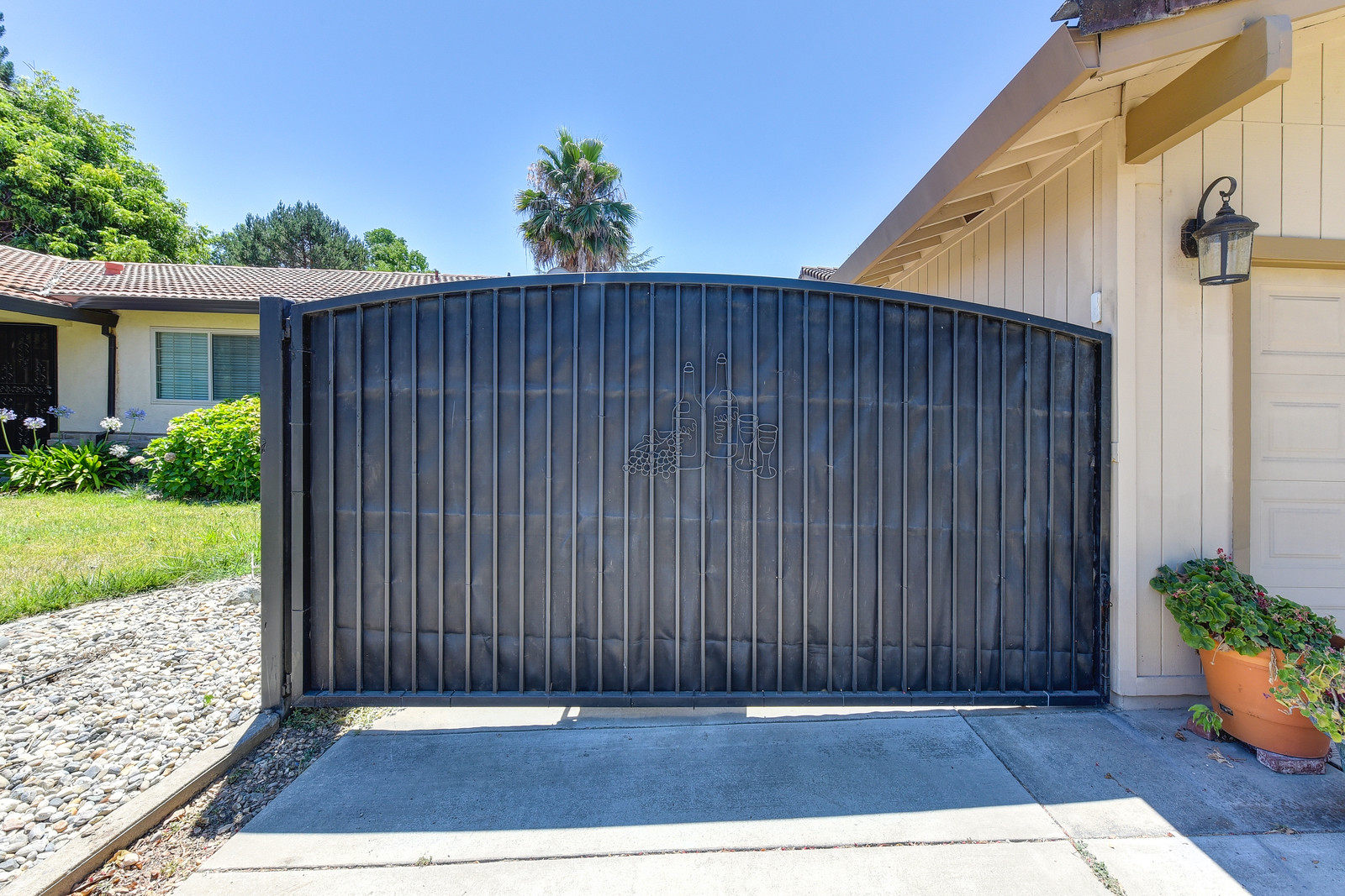 Gate for RV parking at 5342 Nyoda Way Carmichael California | Listed by Jesse Coffey with Keller Williams Realty