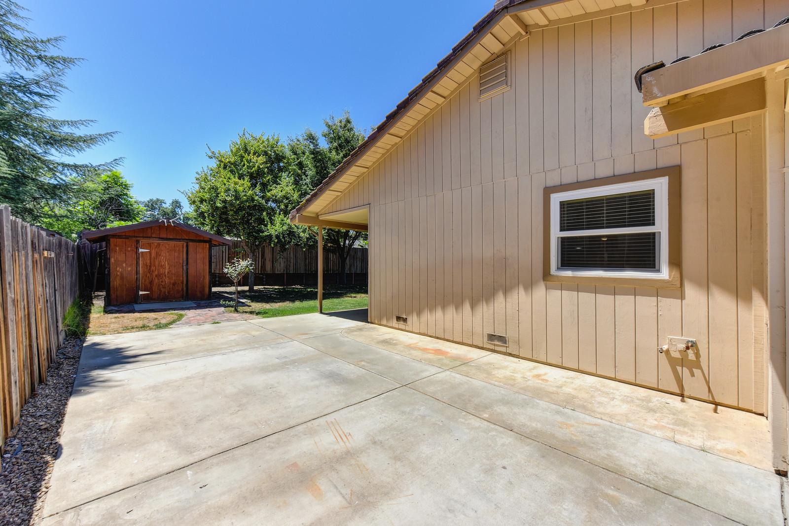 RV storage 5342 Nyoda Way Carmichael California | Carmichael Real Estate Agent