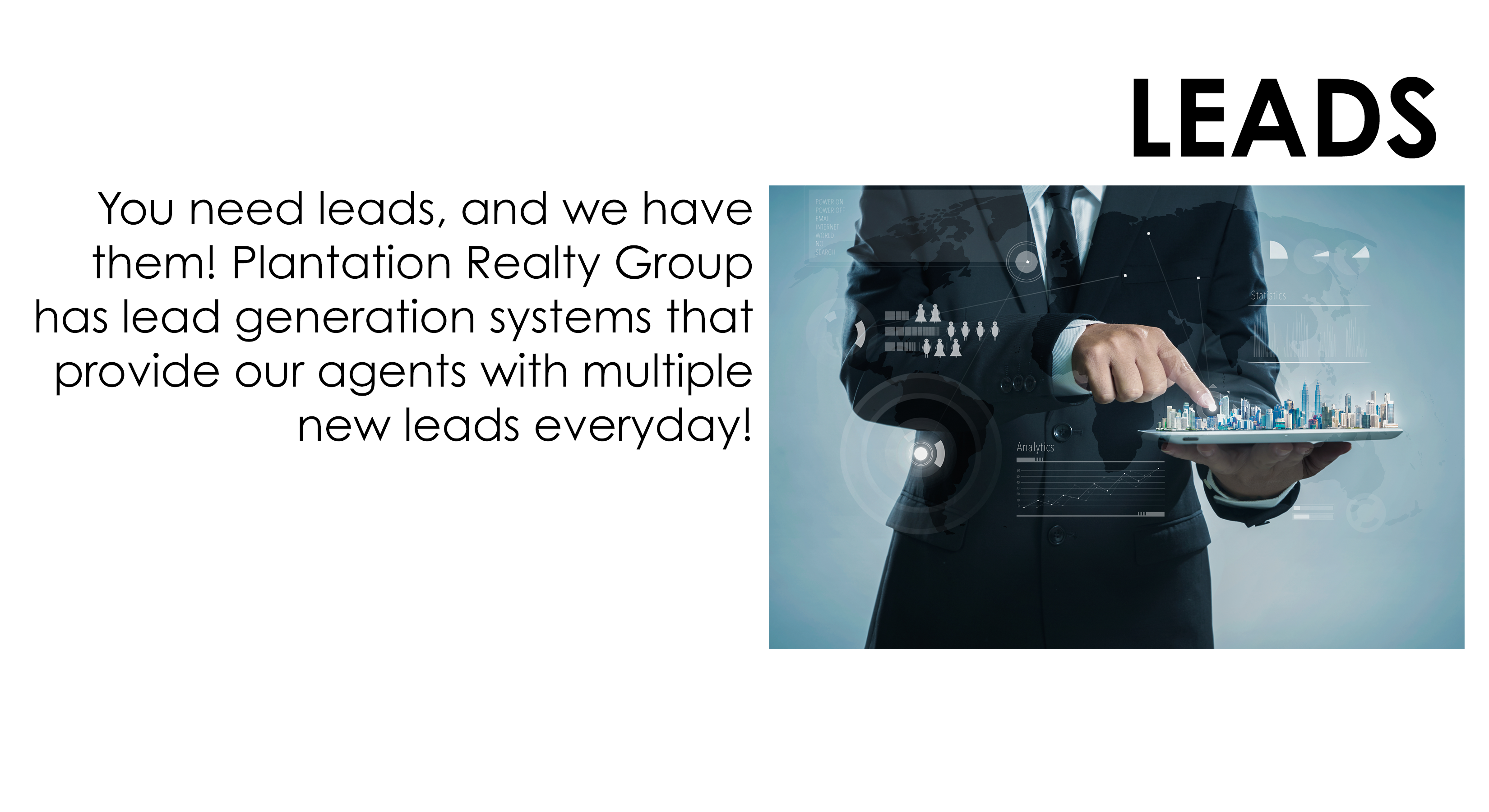 Join Plantation Realty Group Leads