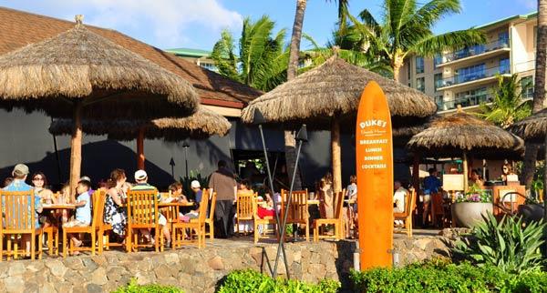 Kaanapali Restaurants Maui