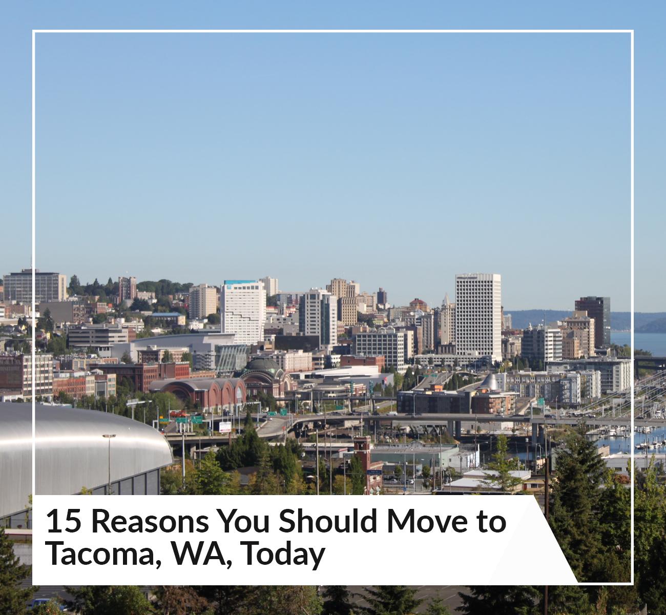 Moving To Tacoma, WA