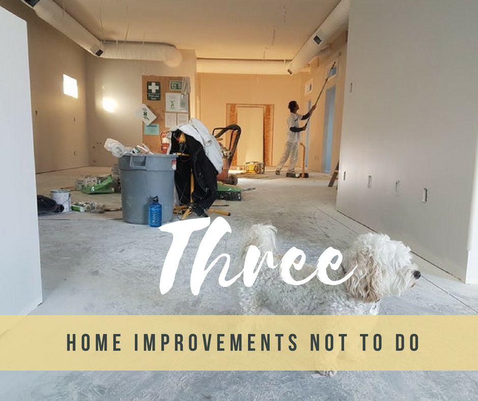 4 terrible home improvement projects