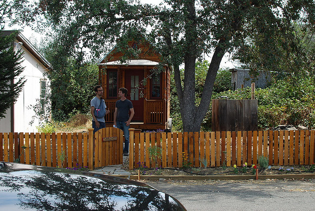 Tiny house movement in Portland Oregon