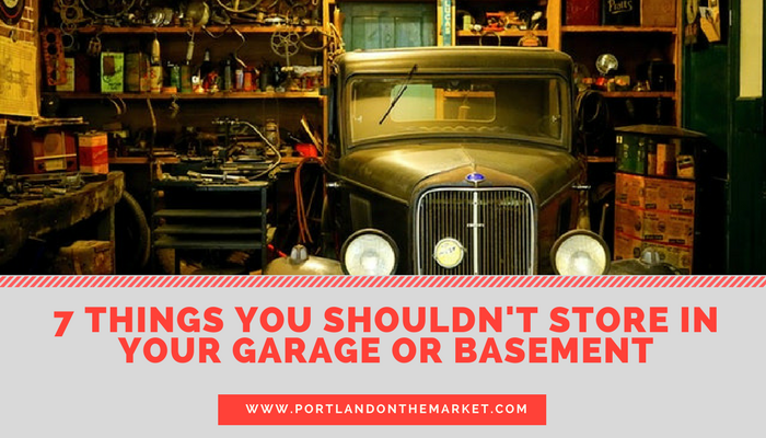 7 Things You Should Never Keep in Your Basement (or Garage)