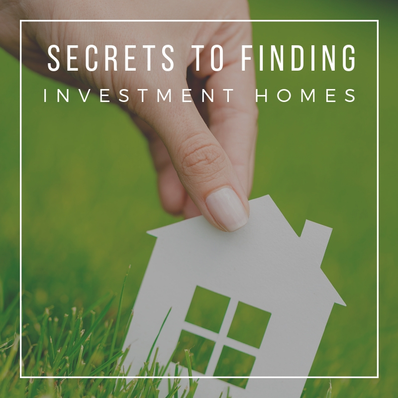 Secret Tips to Finding Great Investment Properties