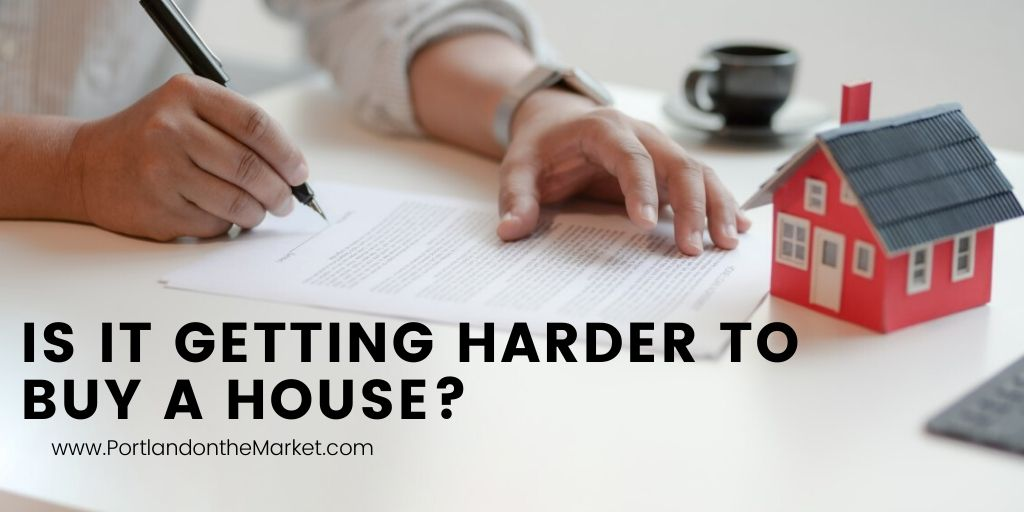 Is it Getting Harder to Buy a House?