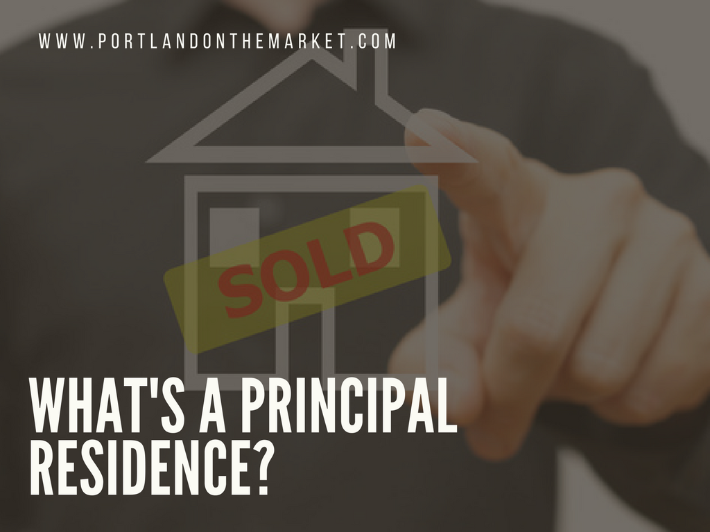 Principal or Primary Residence - What Does it Mean?