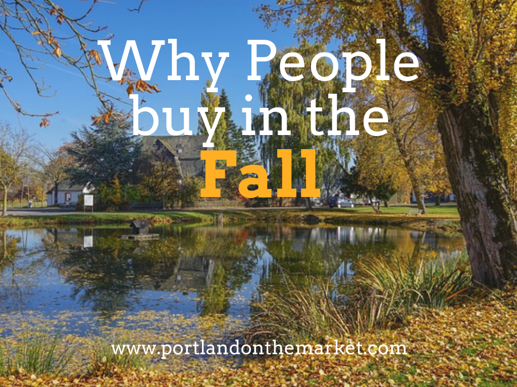 Why is Fall a Good Time to Buy Real Estate?
