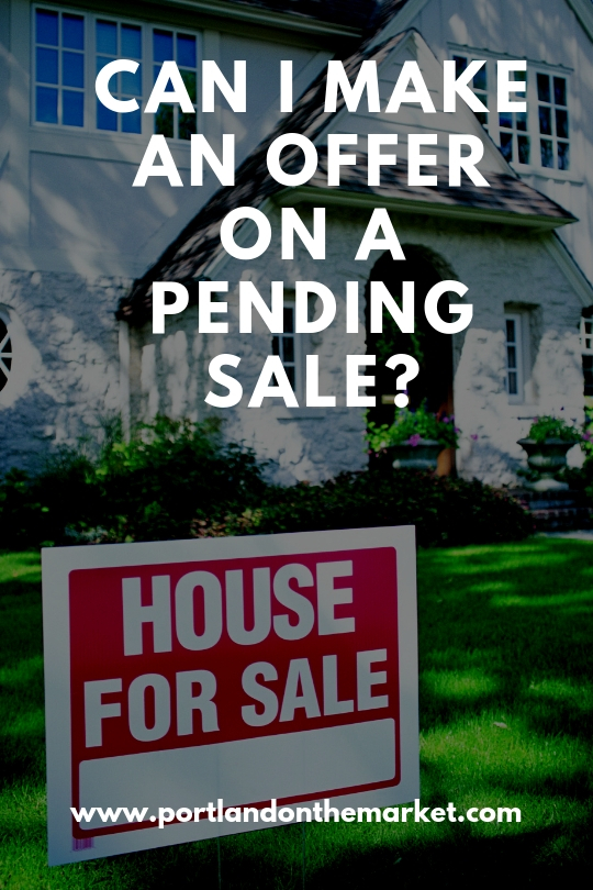 Can I Make an Offer on a Pending Sale?