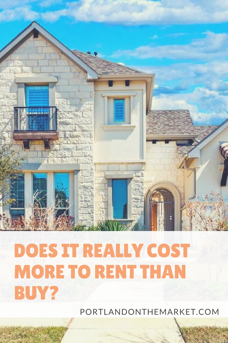 Can NOT Owning a Home Cost More Than Owning One?