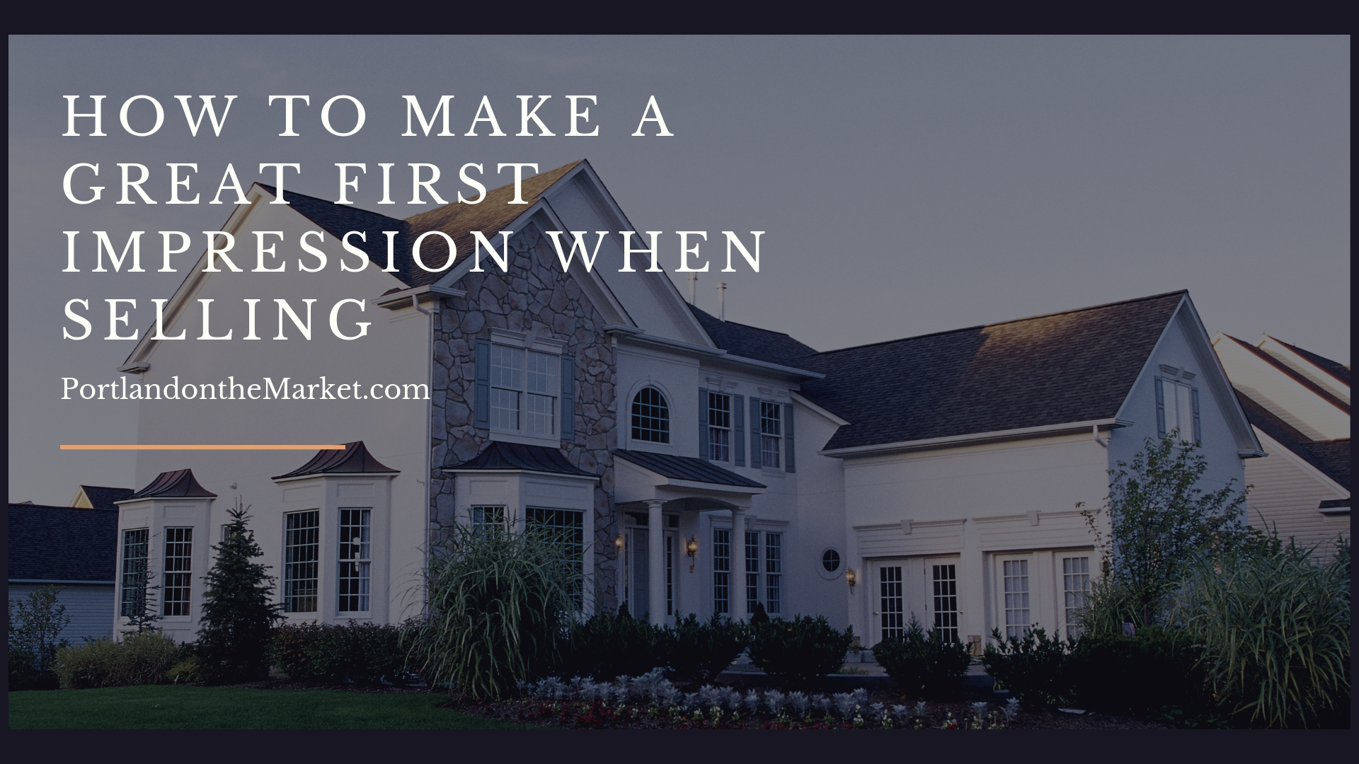 How to Make a Good Impression When Selling a  Home