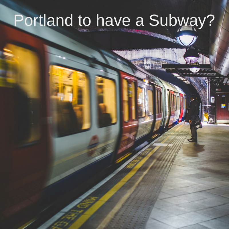 Is a Subway Portland's Next Big Thing?