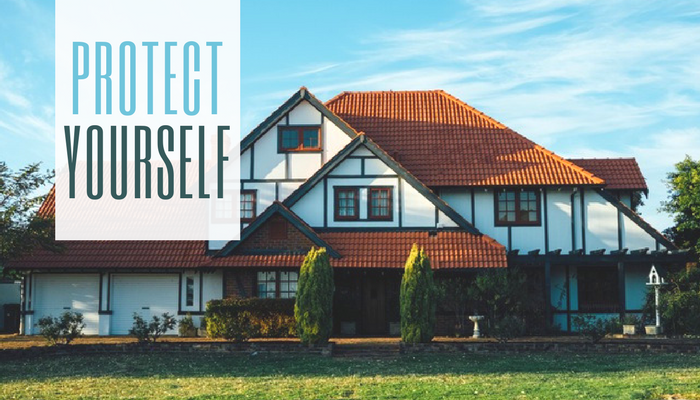 protect yourself with title insurance and home inspections