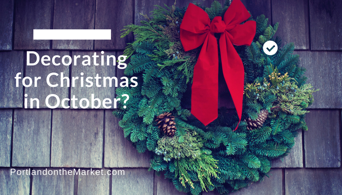 Are People Really Decorating for Christmas in October?