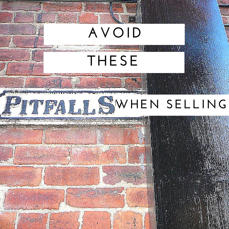 Avoid these pitfalls when selling