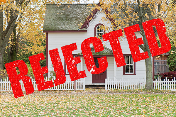 Reject the home inspection