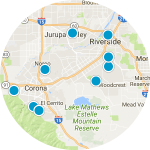Jurupa Valley Real Estate Map Search