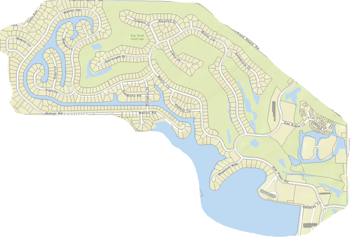 Bay Point neighborhood map