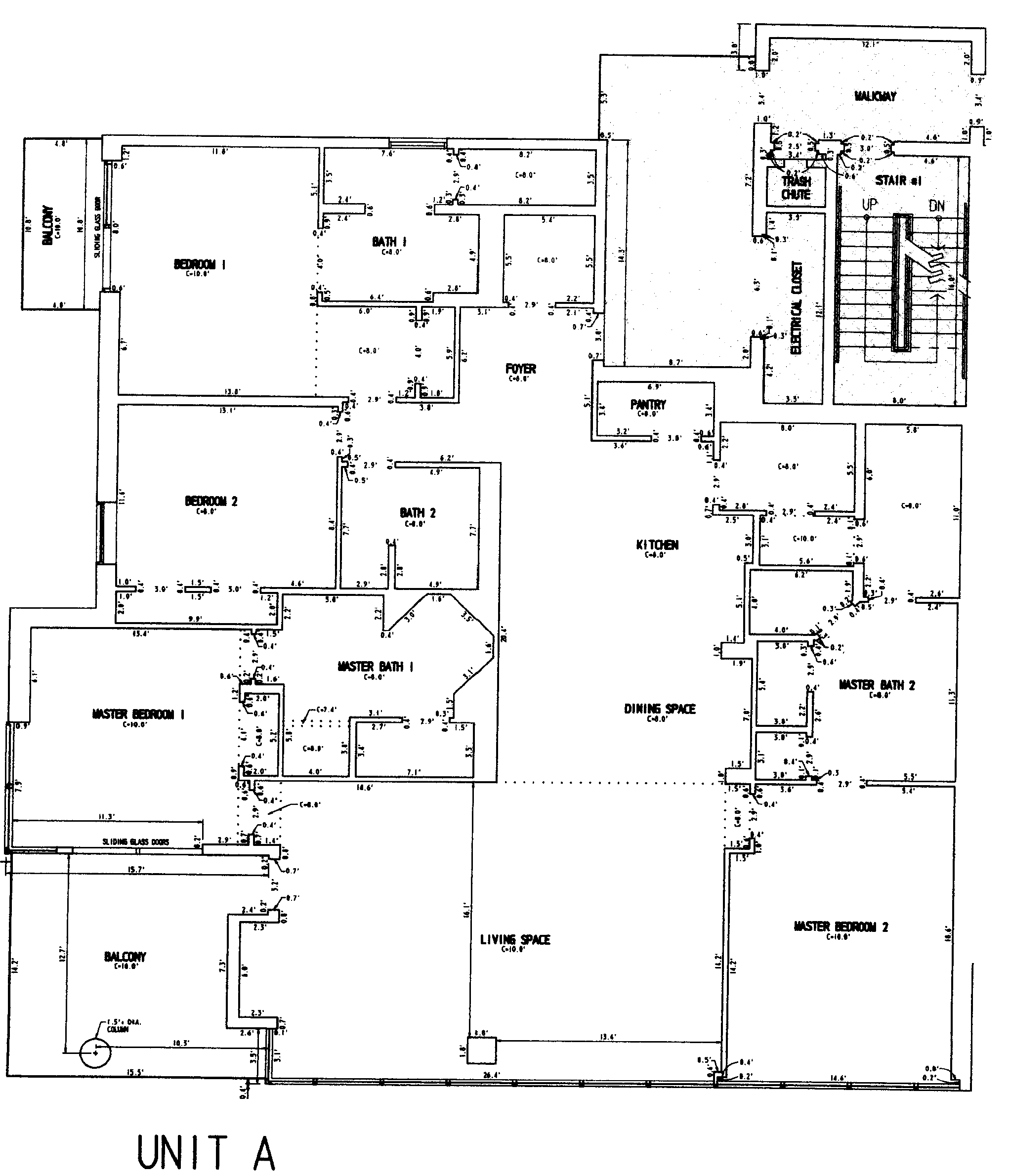 Sterling Beach Floor Plans