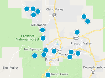 Map Of Arizona Prescott.Prescott Az Map City Subdivision Neighborhood