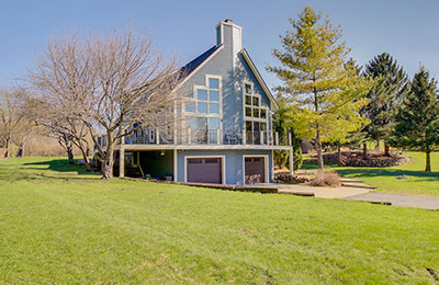 delafield two story home
