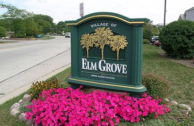 elm grove sign