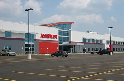 harken inc parking lot