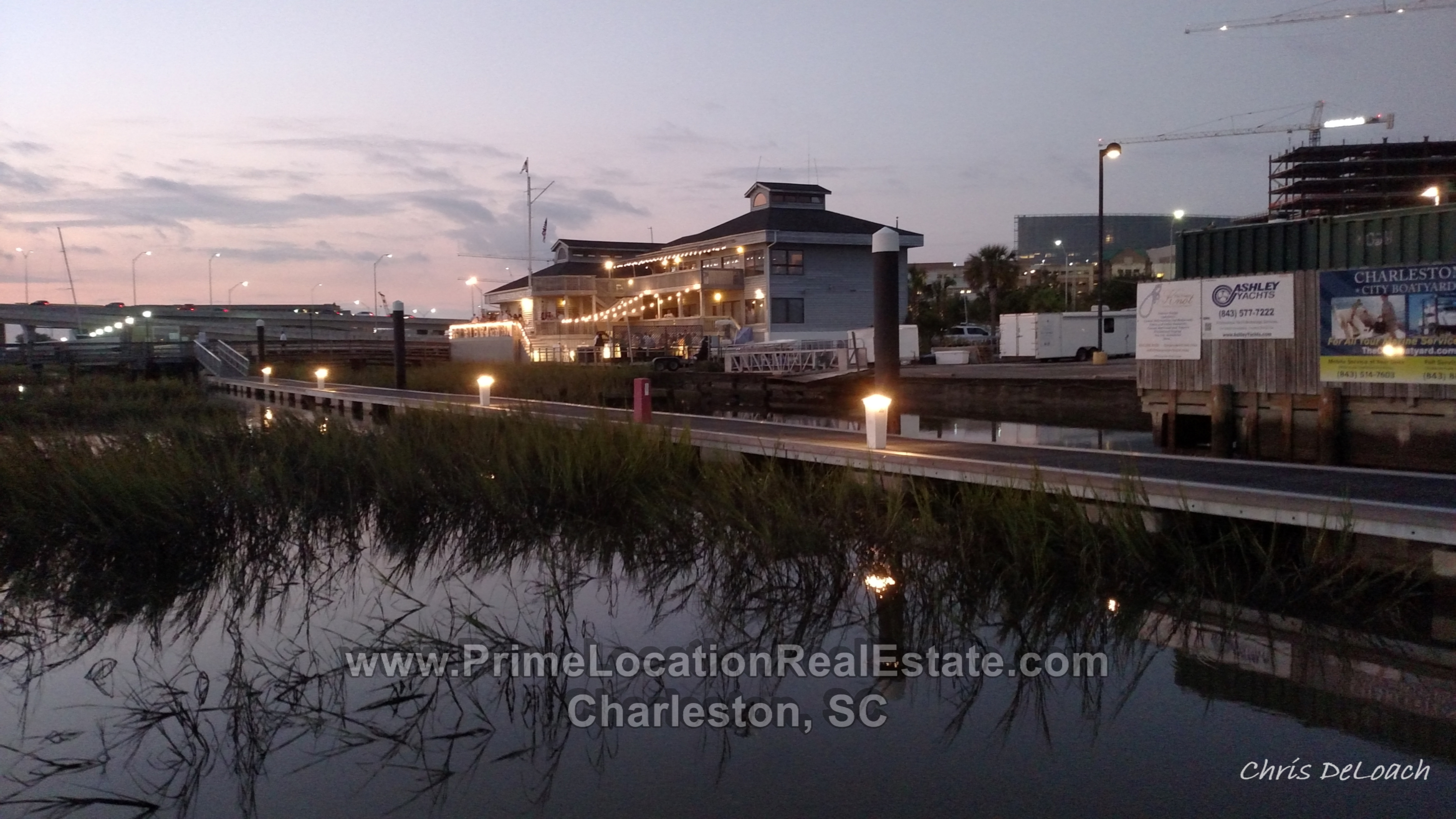 charleston city marina view of Charleston Yacht Clup