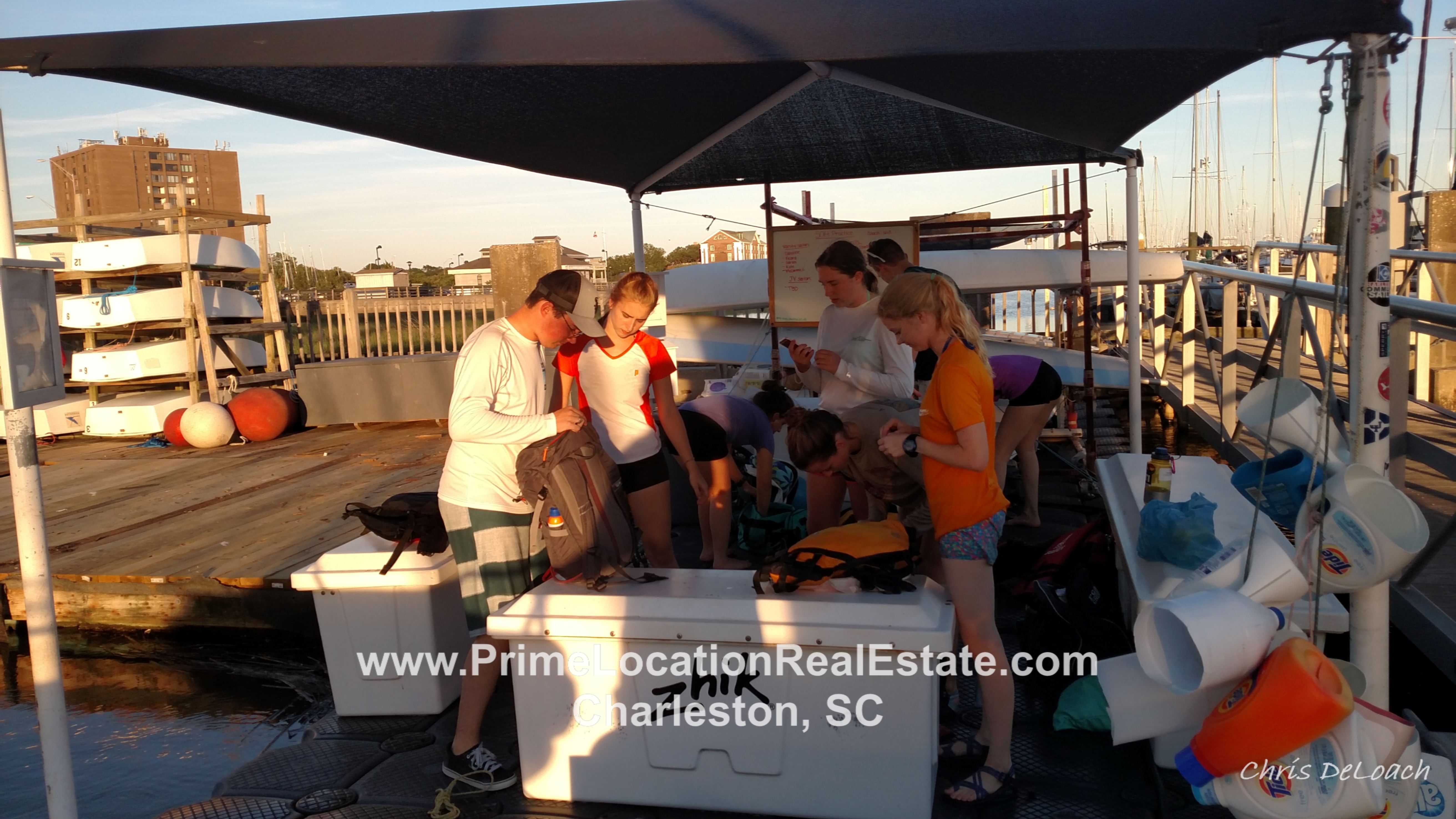 Charleston City Marina - Charleston Community Sailing high school sailing