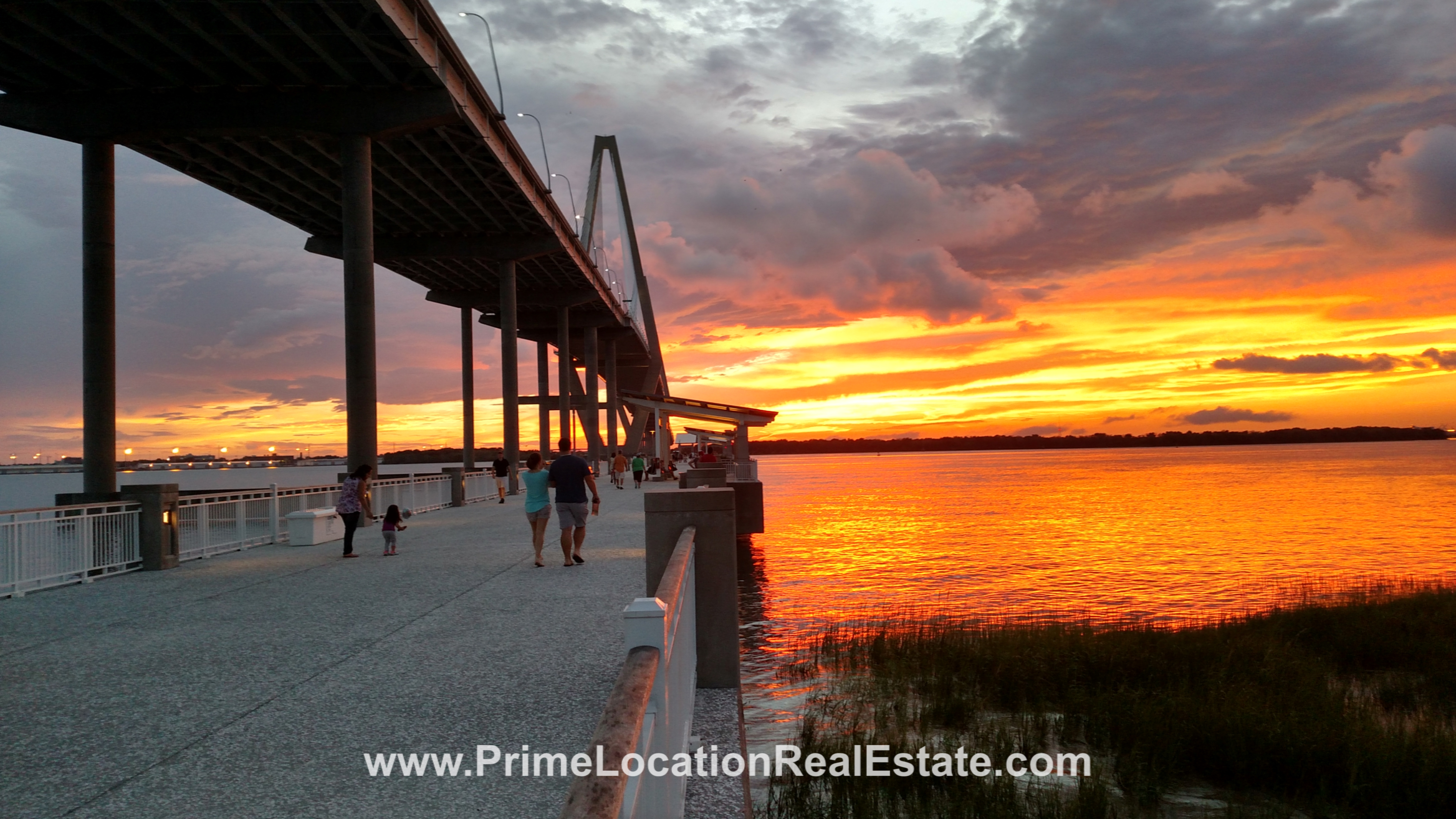 Sunset in Mt Pleasant  - Charleston SC