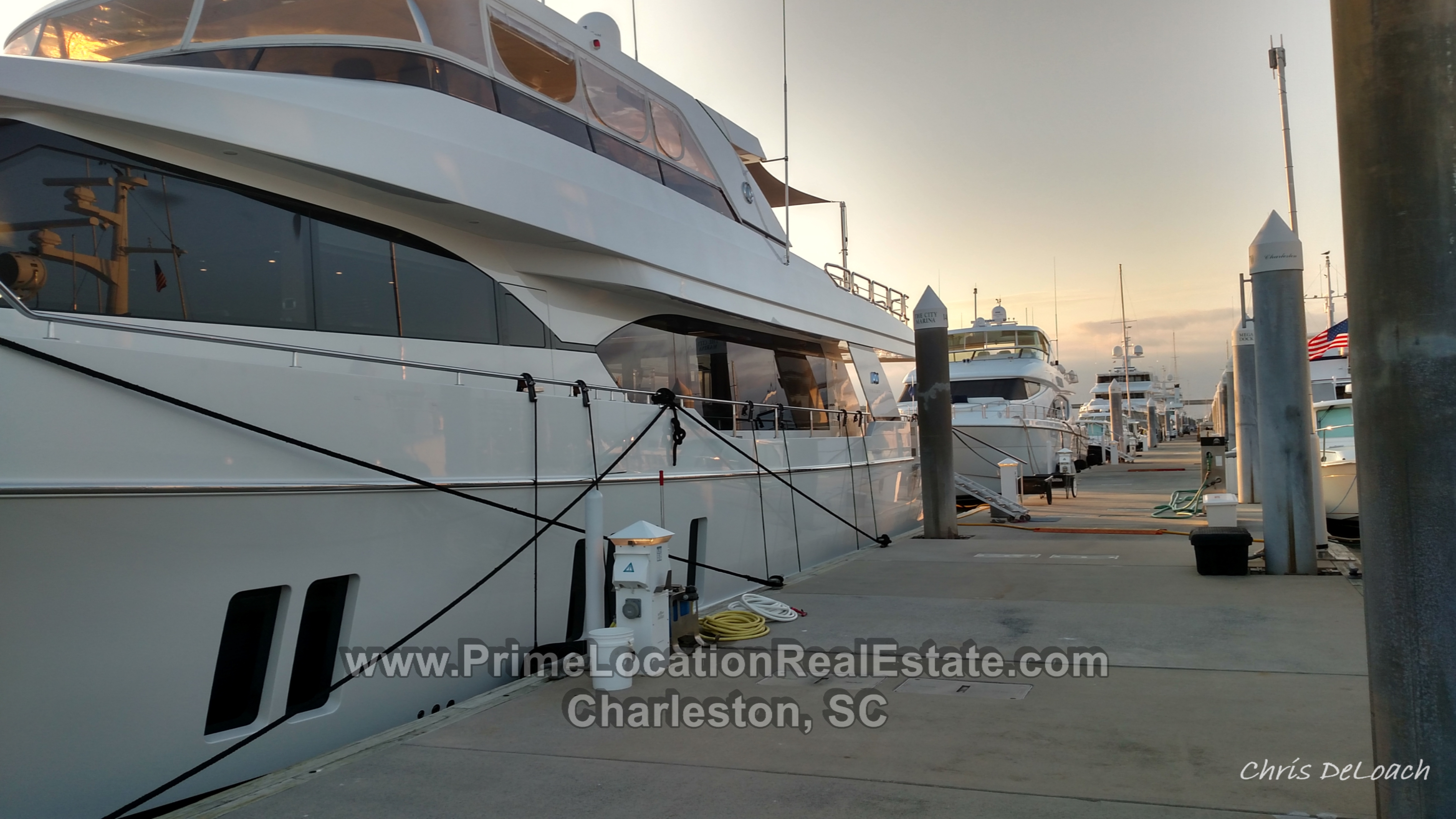 charleston city marina boat